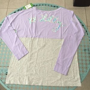 NWT Lilly Pulitzer Finn Tee - Aboat Time